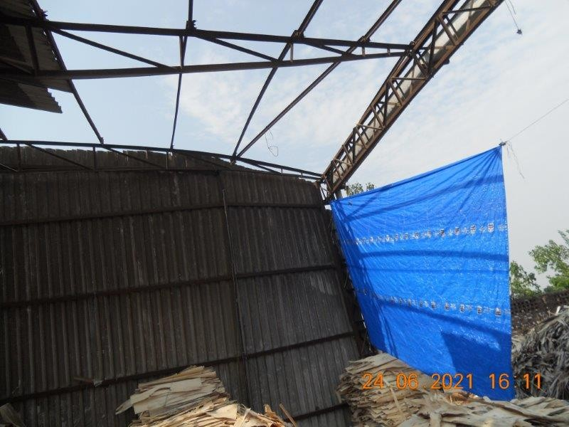 Salvage of Sheets - Approx. 3 MT