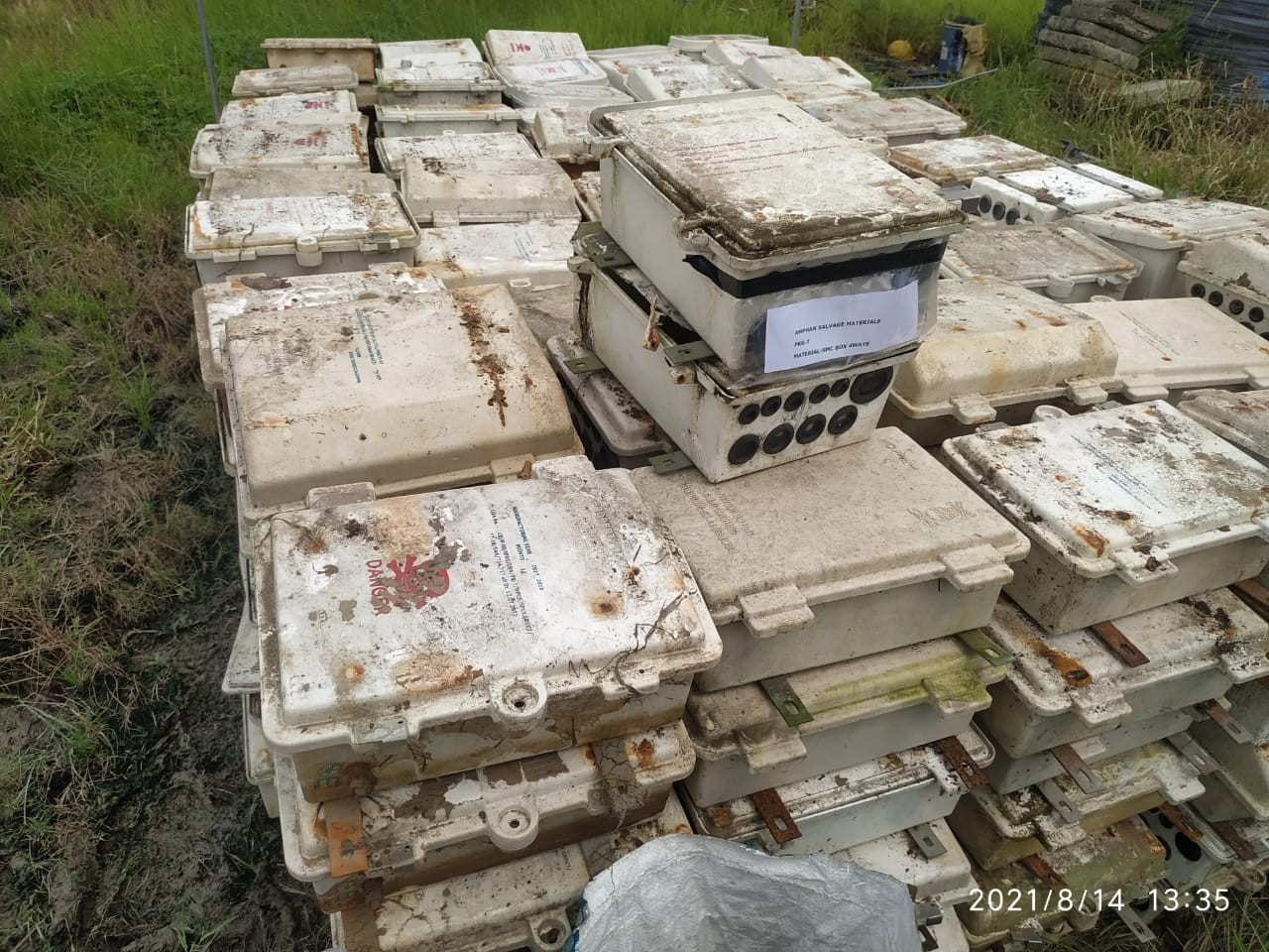 Voltas Scrap (Lot - 3) -(Cables, Conductors, Structural items and other accessories)