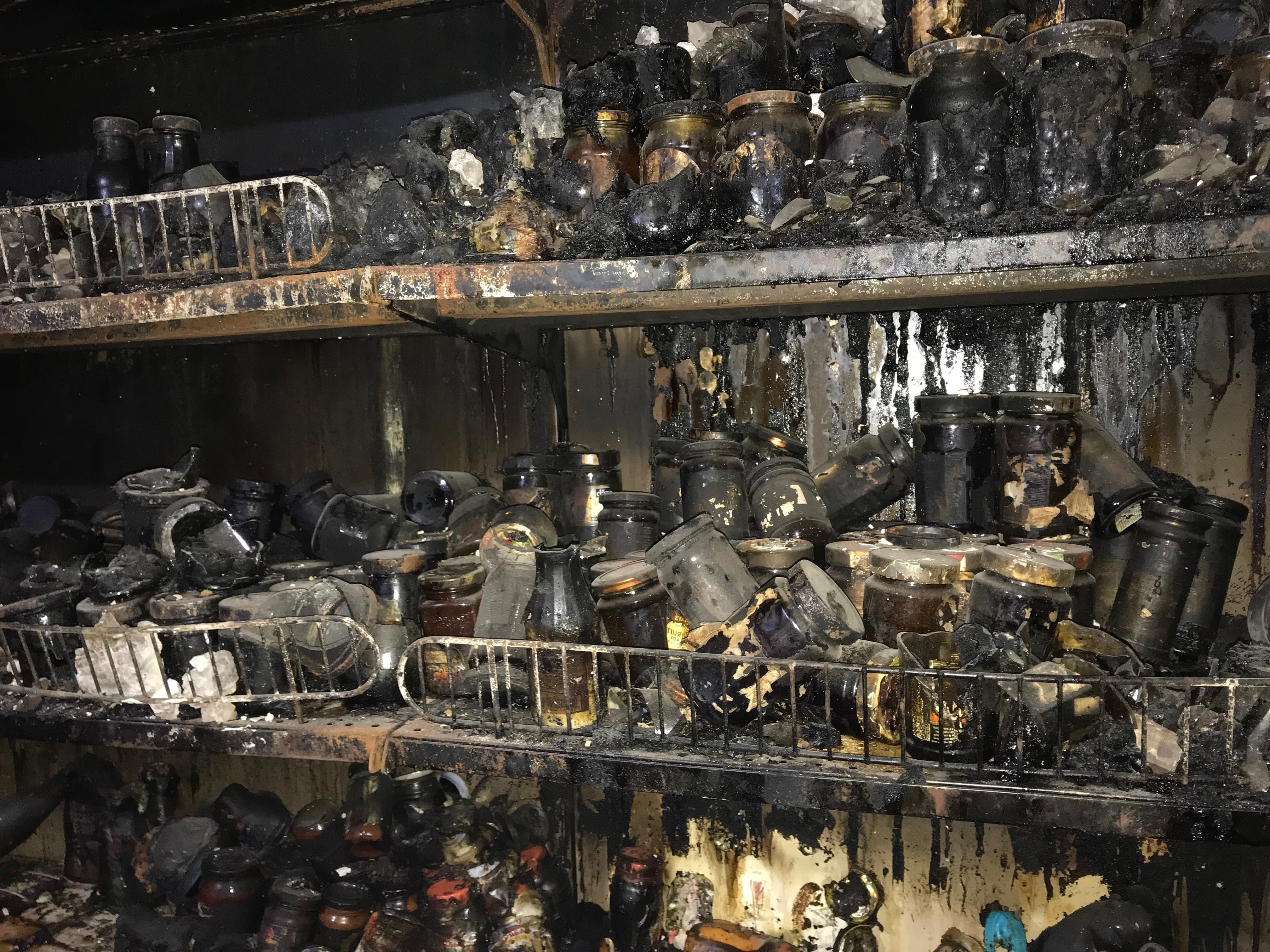 Fire Damage Departmental Store