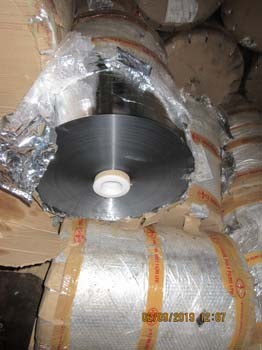 Aluminum Metallised BOPP Film 08 mic - 15965.054 kg