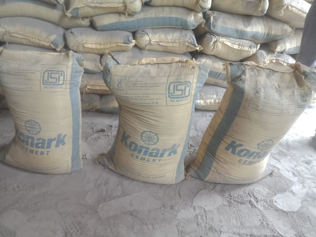 Dalmia Cement - 5400 Bags at Kathihar