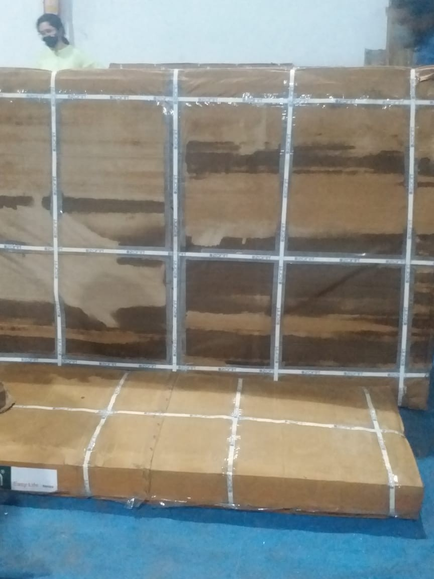 Imported Knock Down Furniture: Almira, Bed Set,Cabinets  (etc)- 163Pcs