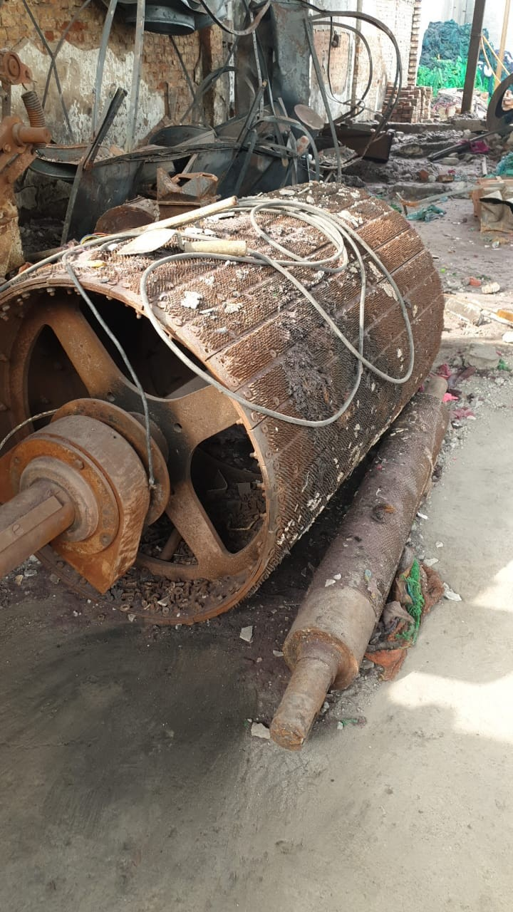 Building steel structure & machinery scrap with electric motors