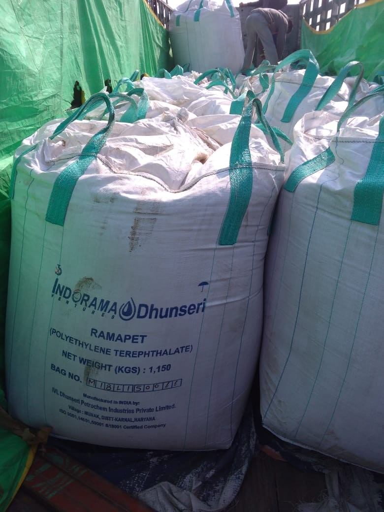 Polyester Chips, 6900 Kgs,  Pithampur- MP