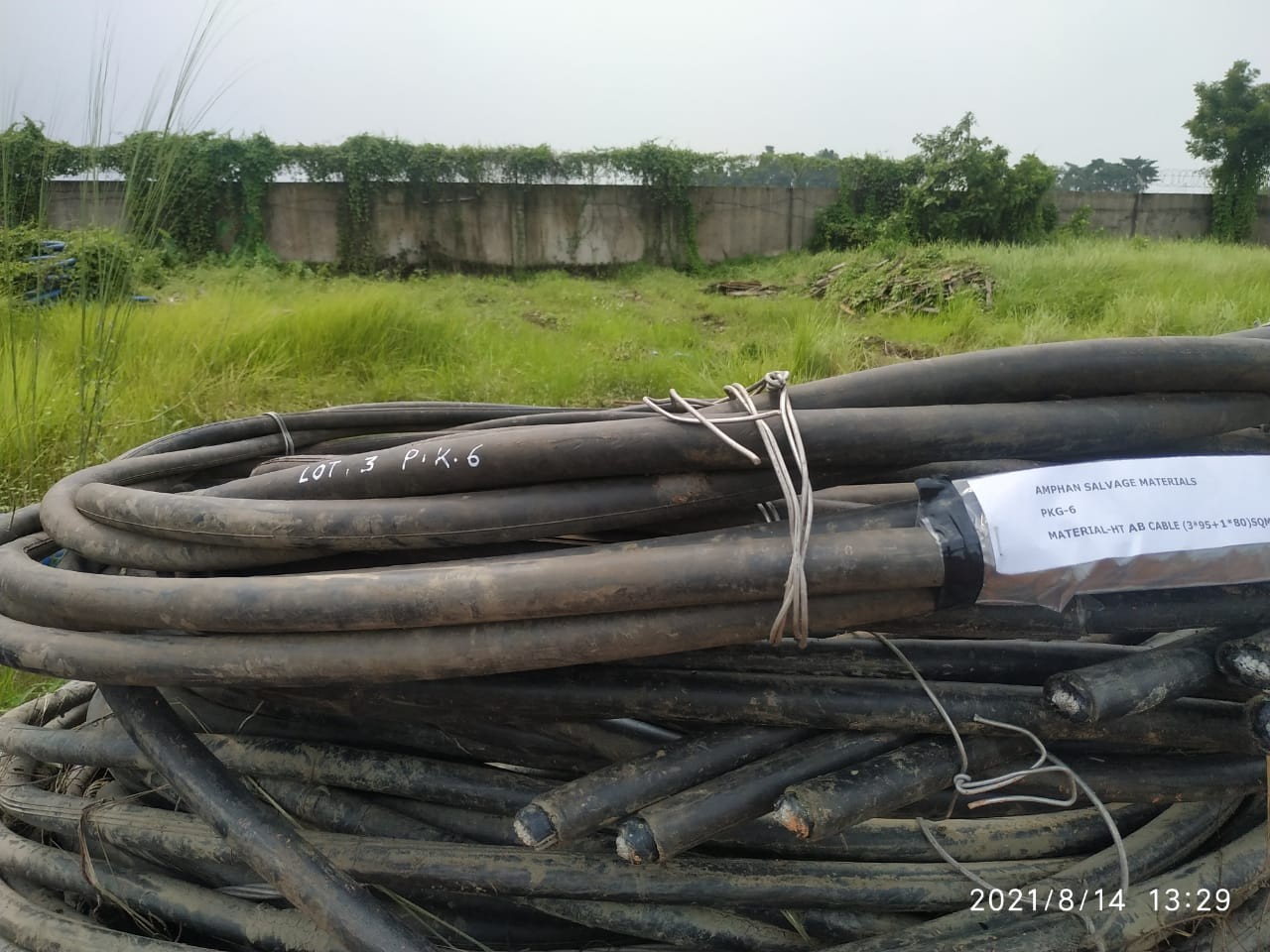 Voltas Scrap (Lot - 2) -(Cables, Conductors, Structural items and other accessories)